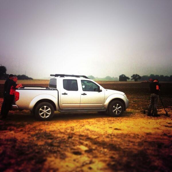 Preparing shots in an Essex field