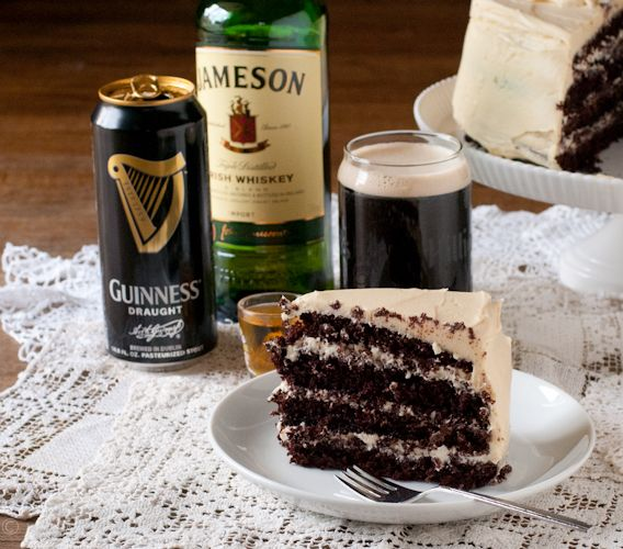 All you St. Patty's day favorites in one slice of cake!