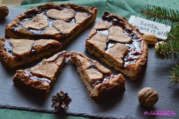 Linzer Plum Dessert – #Linzer #Pflaumentorte