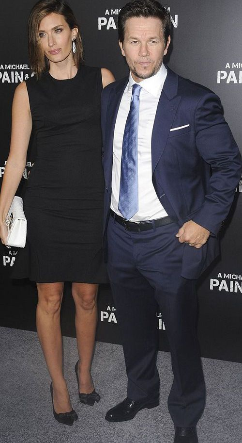 Mark Wahlberg and his wife