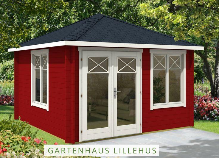 57 best au ergew hnliche gartenh user images on pinterest garden houses garden sheds and sheds - Gartenhaus im schwedenstil ...