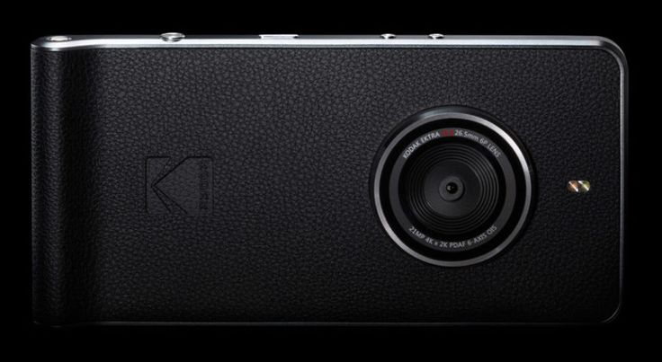 The Kodak Ektra adds a solid camera inside an Android smartphone