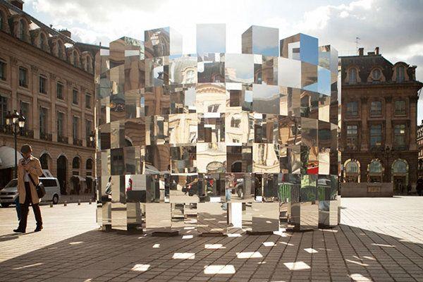Ring Mirror Installation by Arnaud Lapierre