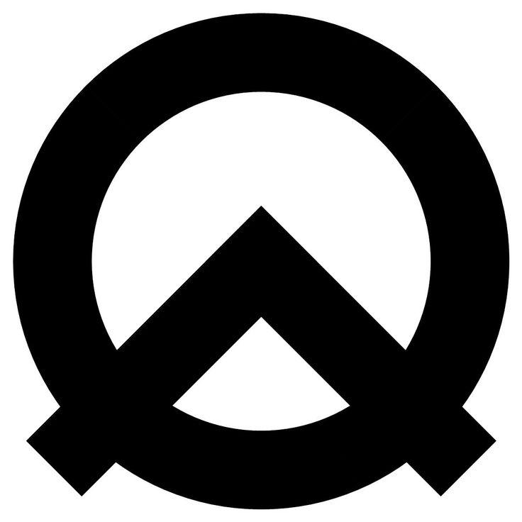 Atheist symbol - Black and White