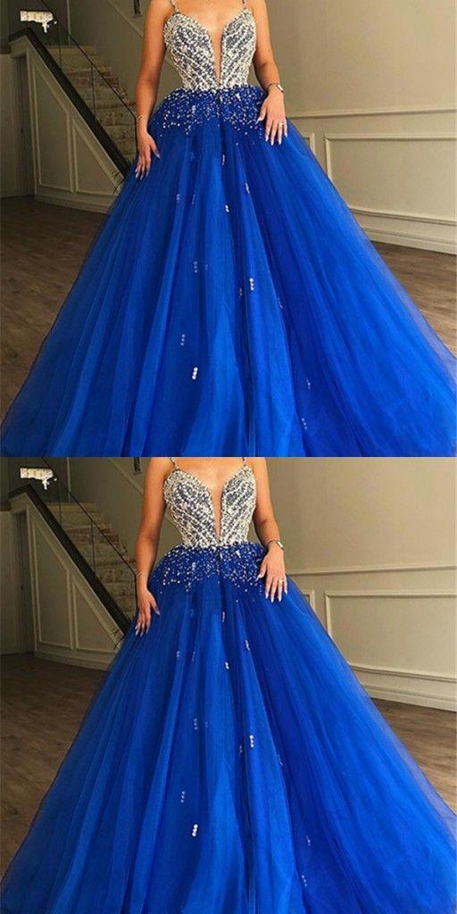 luxus abendkleider lang  abendkleid blau online
