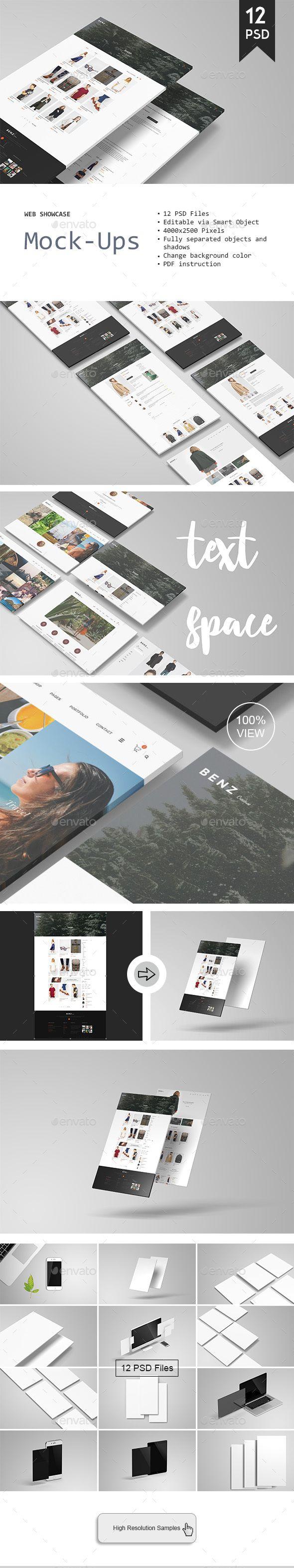 Web Showcase Mockup