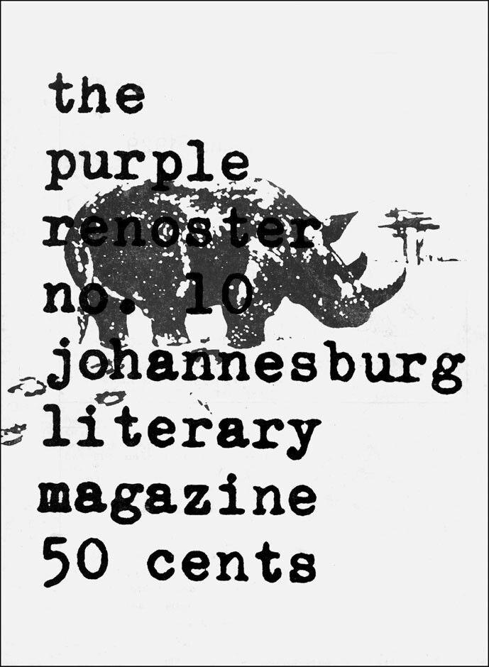Lionel Abrahams' Purple Renoster (1971)