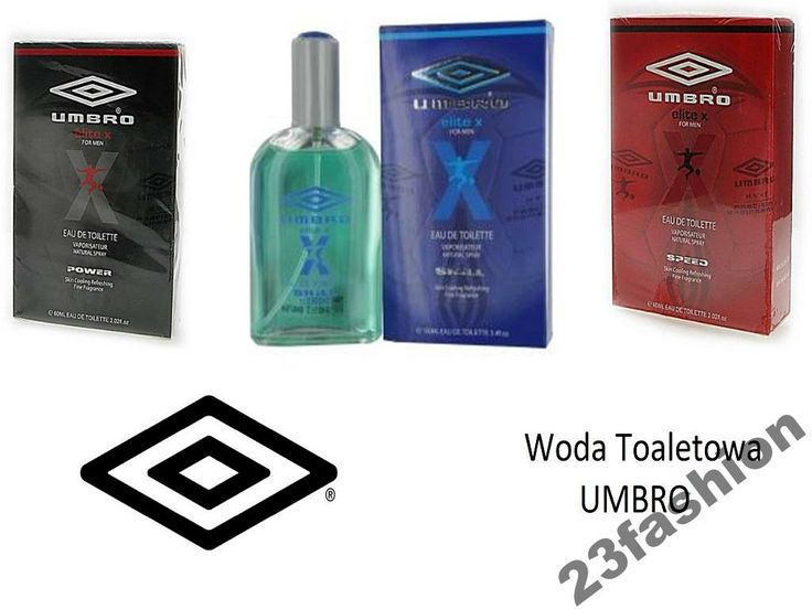 WODA TOALETOWA UMBRO 60ml Elite X na prezent HIT
