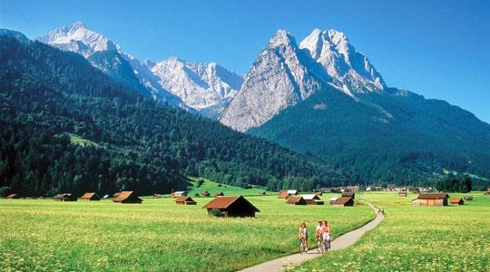 Alpspitze e Zugspitze - Garmisch, Germania