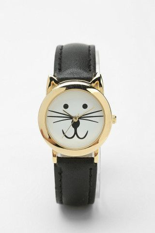 Meow OClock Watch. Who wouldn't love this?