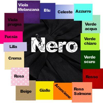 Nero abbinamento colori