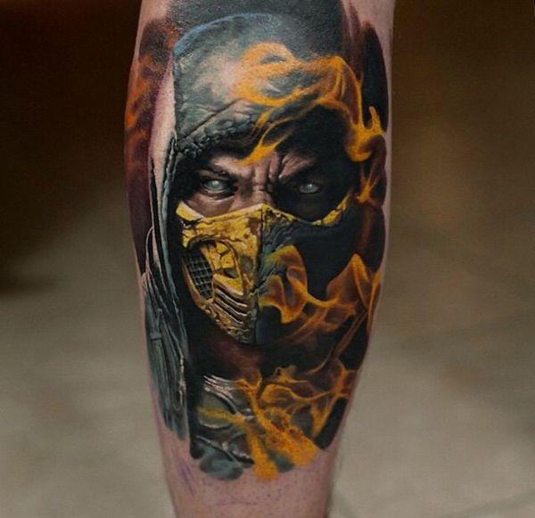 26 Kick-Ass Gamer Tattoos - Gallery