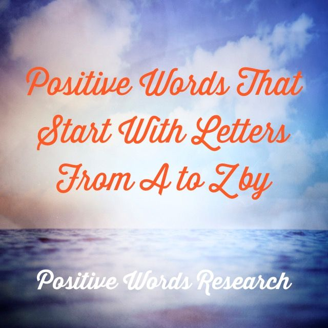 102 Best Positive Words Research Images On Pinterest