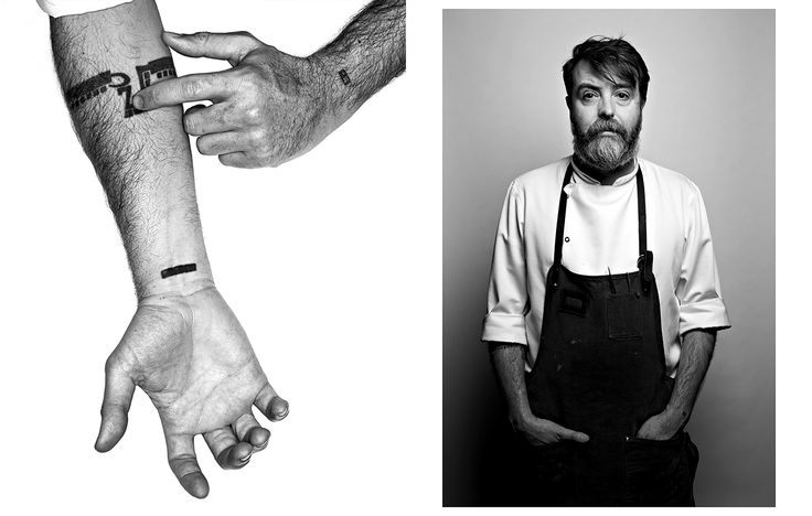 Nuno Mendes, Chiltern Firehouse ( from Fifty Chefs | The Hands that Feed London, 2015 exhibition by Katie Wilson)