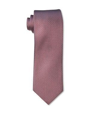60% OFF Rossovivo Men's Dot Tie, Red/White