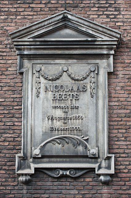 Boothstraat 6 Gevelsteen by Kosmopolis Utrecht, via Flickr
