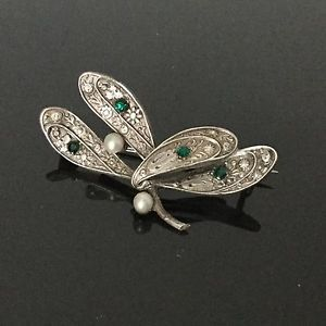 Broche en Argent Gui Perles 1900 Art Nouveau Jugendstil Mistletoe Silver Brooch | eBay
