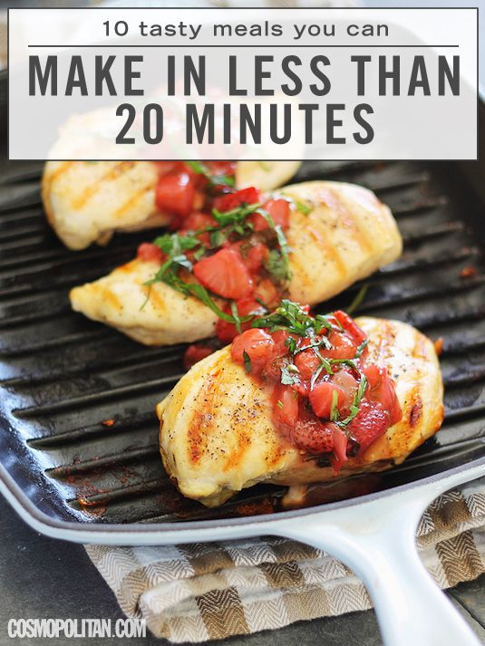 10 incredible meals you can make in less than 20 minutes for What can you make with strawberries