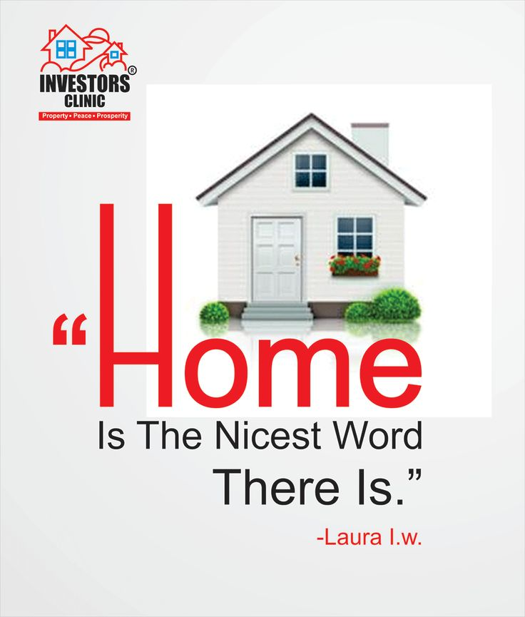 Home is Nicest world. There is....
