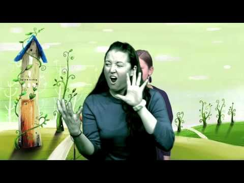 The Three Little Pigs and the Big Bad Wolf (Math in ASL) - YouTube