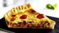 Эликсир молодости: Пирог с фасолью, чоризо и помидорами черри
