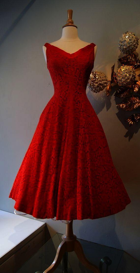 Vintage Dress H m 50s Dress Tutorial  d46cfc90c301