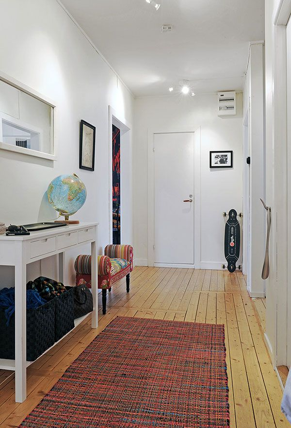 entry: Storage Spaces, Benches, Floors, Hallways, Consoles Tables, Stockholm Apartment, Products Design, White Wall, Apt Redecor
