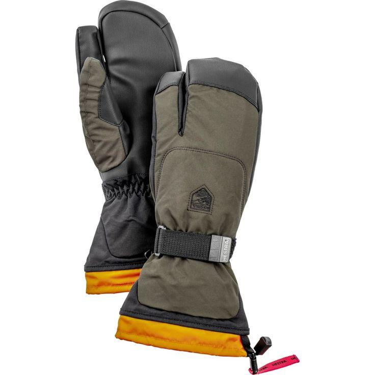 Gauntlet Sr 3-finger är en längre handske med tre fingrar för skidåkning och snowboard med löstagbart foder. PU grip i innerhanden och Wolf Paw-konstruktion för extra slitstyrka.