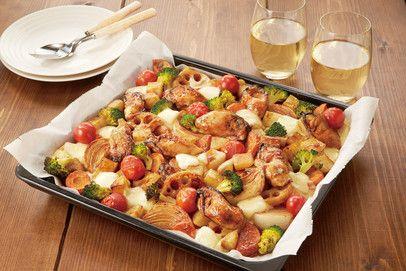牡蠣といろどり野菜のぎゅうぎゅう焼き
