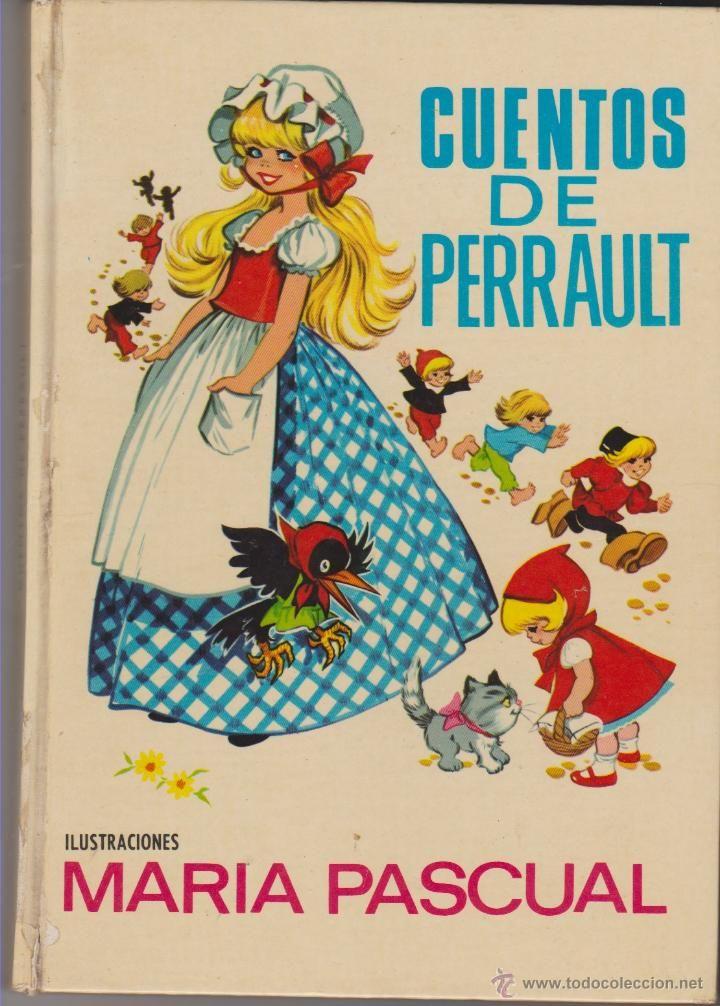 CUENTOS DE PERRAULT, MARIA PASCUAL***LA CENICIENTA**PULGARCITO**CAPERUCITA ROJA (Tebeos y Comics - Toray - Otros)