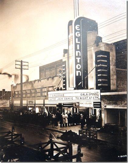 Toronto's old Eglinton Theatre