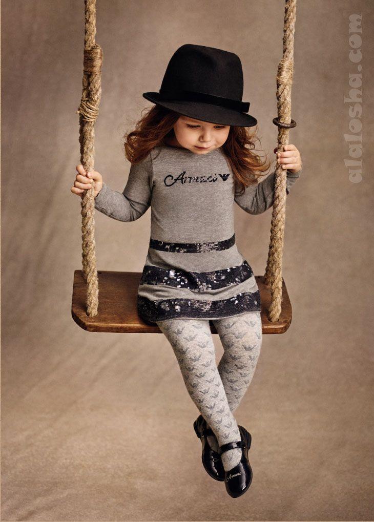 ALALOSHA: VOGUE ENFANTS: ARMANI JUNIOR girlswear AW14