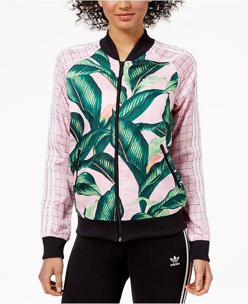 Adidas Originals Printed Track Jacket Fashion Inspiration