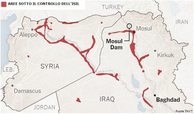 Aerei dell'US Air Force bombardano postazioni dell'ISIL in Iraq: è iniziata la Terza Guerra del Golfo?
