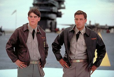 Men today should watch the movie Pearl Harbor and take lessons from the way men used to act :)