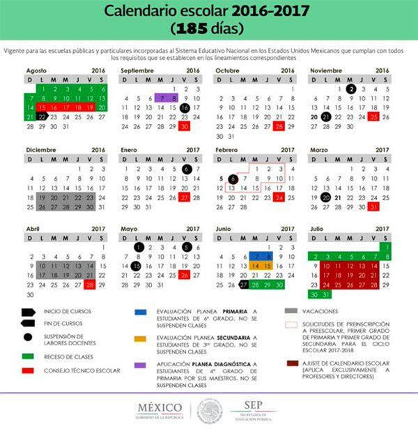 Conoce los días de asueto del ciclo escolar 2016-2017 [SEP] - 27/05/2016 | Periódico Zócalo