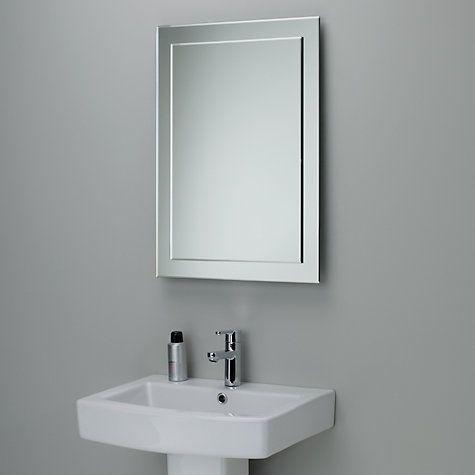 Buy John Lewis Duo Wall Bathroom Mirror, 70 x 50cm Online at johnlewis.com