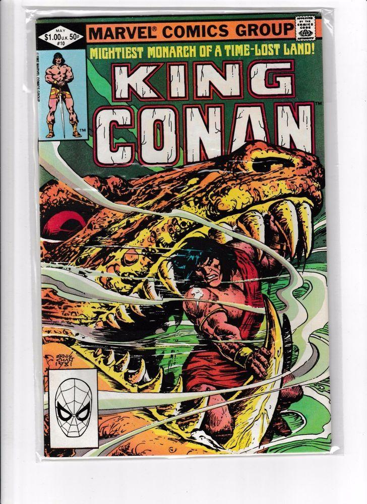 King Conan Comic Book No. 10 (1982) MARVEL COMICS
