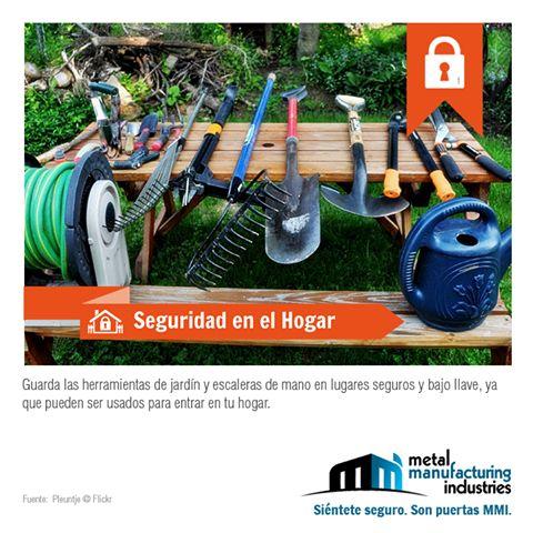 ¡Buen miércoles de quincena! Este tip de #Seguridad en el Hogar es especialmente útil para quienes tienen jardines grandes en su casa.