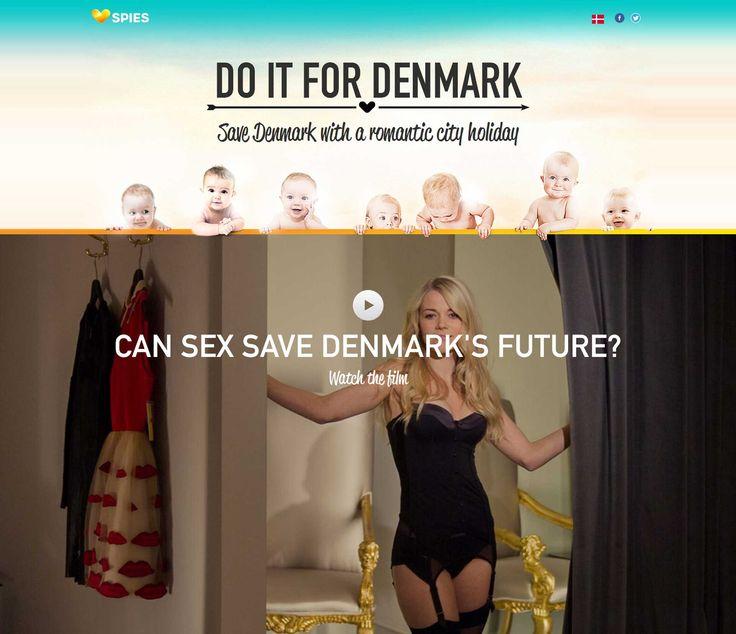 """Do it for Denmark: So macht Werbung Spass Mit """"Do it for Denmark!"""" will Spies Rejser die auf einem Rekordtief liegende Geburtenrate Dänemarks steigern. Und nebenbei  den Verkauf von romantischen Reisen beflügeln."""