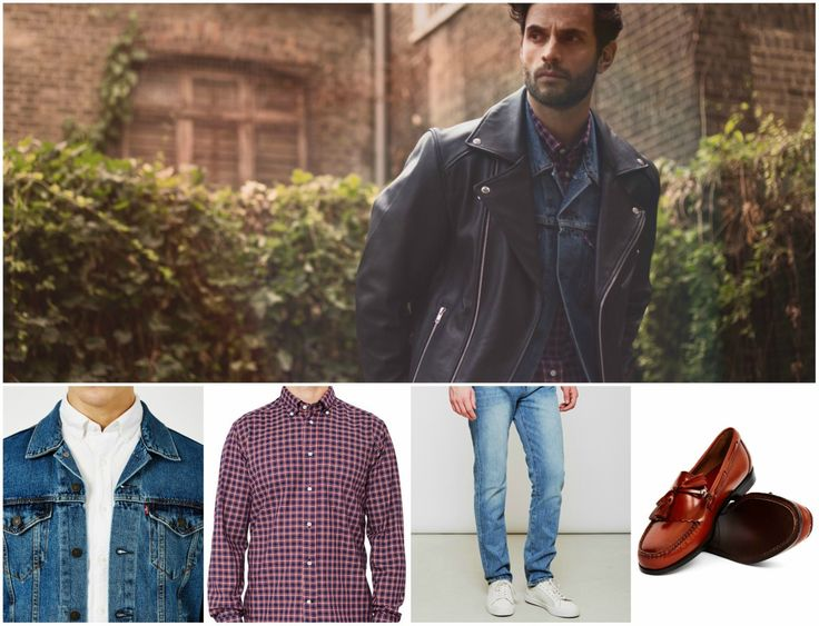Schott Jacket Outfit | Shop now at The Idle Man | #StyleMadeEasy