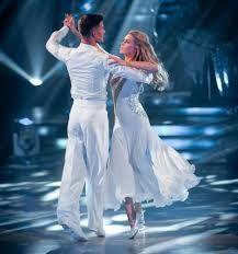 Abbey Clancy & Aljaz Skorjanec Strictly Come Dancing Winners 2013