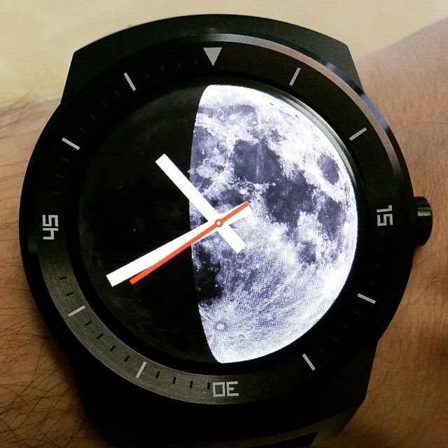 Moon Phase Watch Face