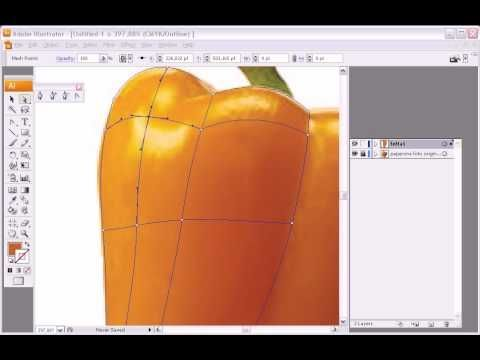 Great ILLUSTRATOR tutorial for creating photo realistic images in illustrator