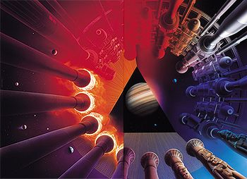Jefferson+Starship+Album+Covers | EWF, Maze, ELO album cover illustrator Shusei Nagaoka