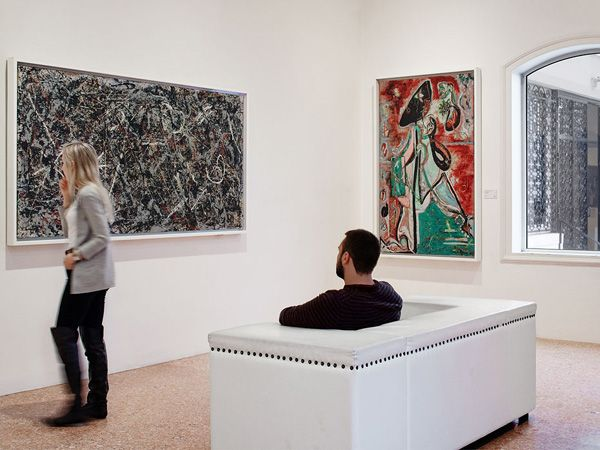Alchimia di Jackson Pollock - Descrizione dell'opera e mostre in corso - Arte.it