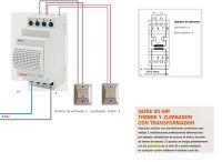 Esquemas eléctricos: timbre y zumbador con transformador