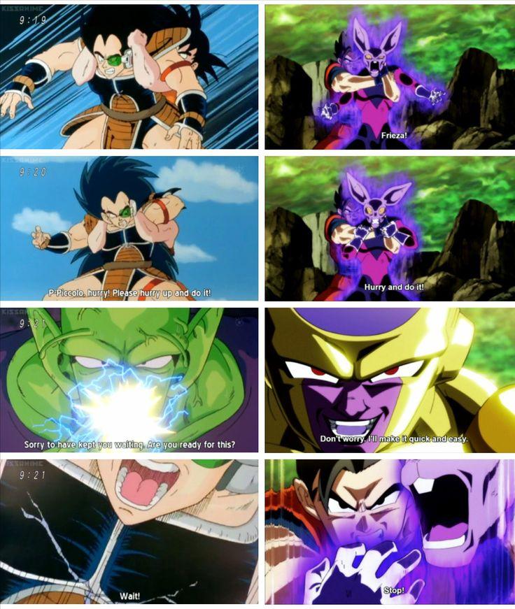 Goku and Piccolo vs Raditz | Gohan and Frieza vs Dyspo