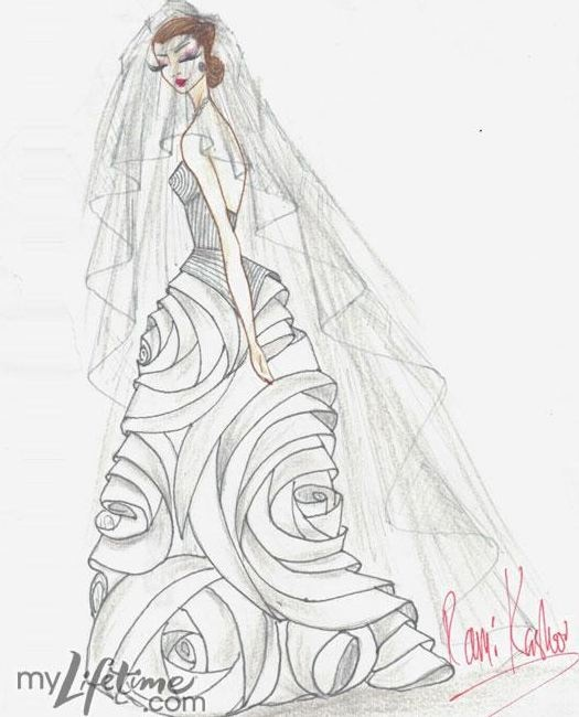 24 Best Wedding Dress Sketches Images On Pinterest Fashion Drawings Fashion Illustrations And