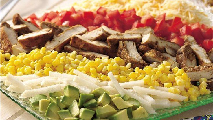 Southwestern Chicken Cobb Salad  #chicken #salad #southwestern, – #Chicken #Cobb…